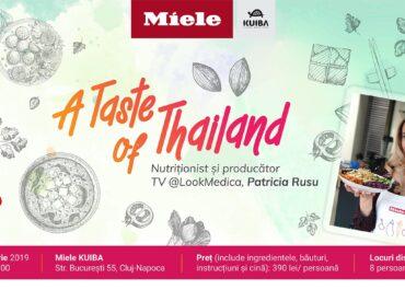 A Taste of Thailand cu Patricia Rusu @Miele Cluj
